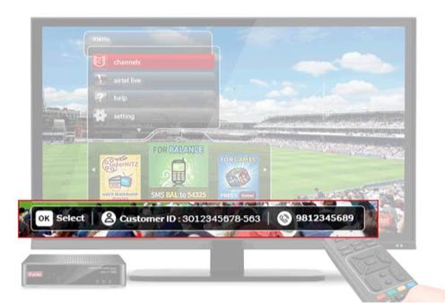 airtel digital tv toll free number