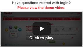 demo video - airtel login   pay airtel bill online   login airtel my account  rh   airtel in